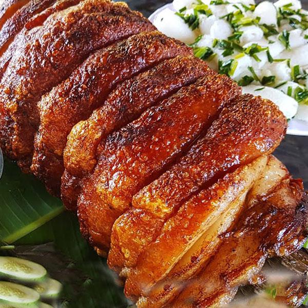 Thịt quay đòn Đường Lâm
